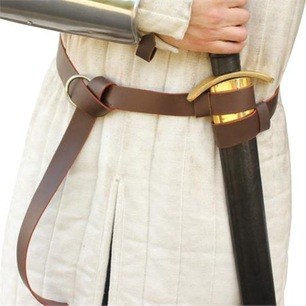 Tradewinds Merchant's Leather Double Strap Sword Belt by General Edge (Image #4)