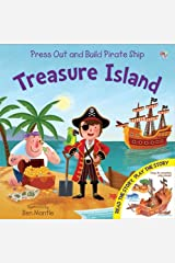 Treasure Island (Junior Press Out and Build) Hardcover