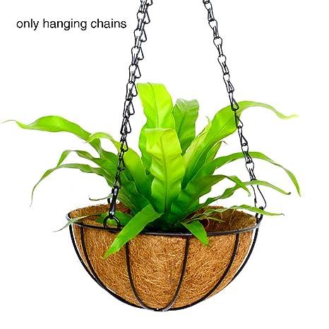 HINMAY Paquete de 8 Perchas Colgantes para Plantas de jardín ...