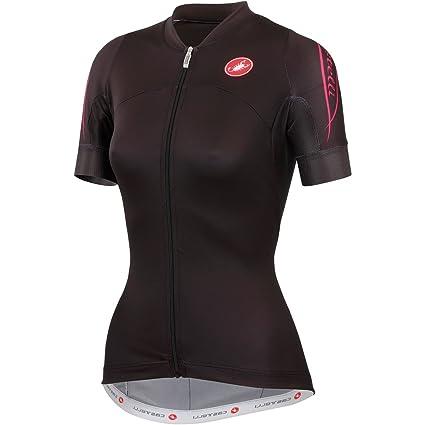 Castelli Certezza Jersey Full-Zip Jersey - Short-Sleeve - Women s Black 67086bb5f
