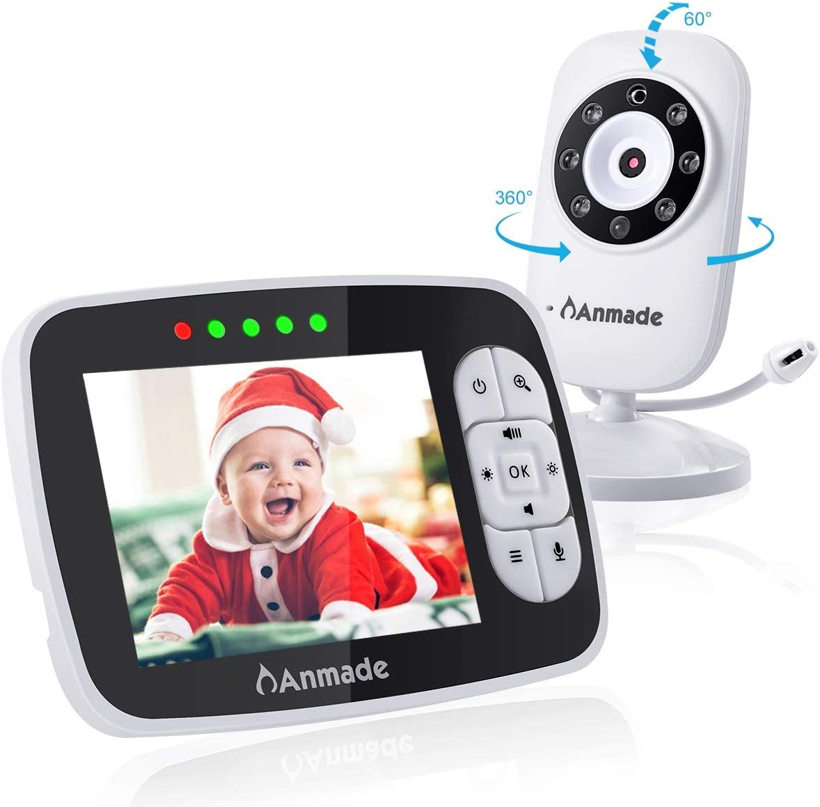 Anmade Video Baby Monitor