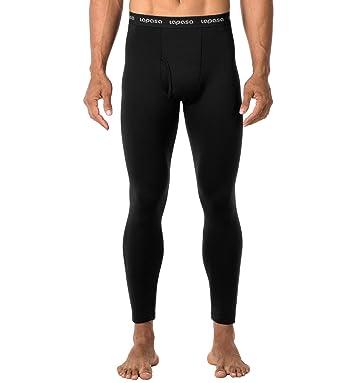 512313b7ae LAPASA Men's Heavyweight Thermal Underwear Pants Fleece Lined Long Johns  Leggings Base Layer Bottom M25 (