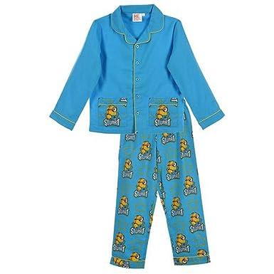 b333ef979c MINION - Pijama Dos Piezas - para niño Azul Azul 3 años  Amazon.es  Ropa y  accesorios