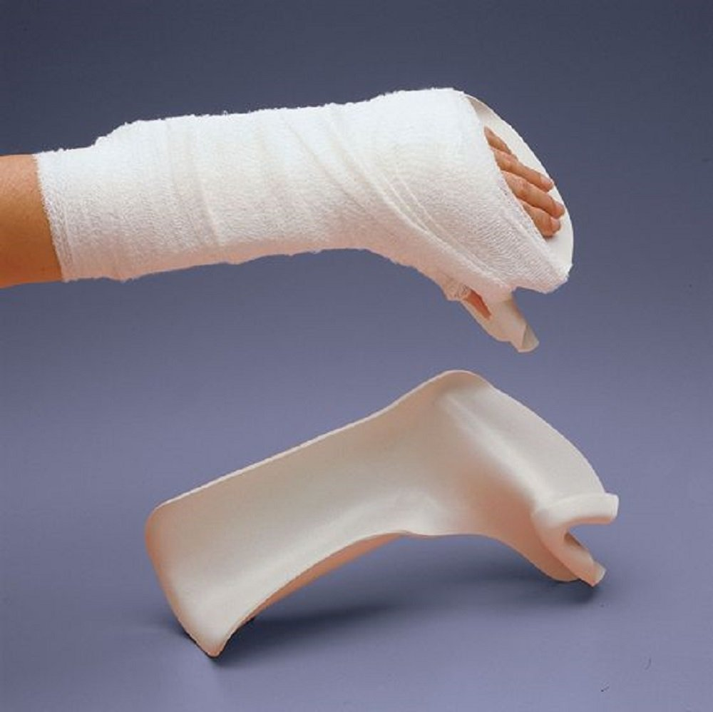 Rolyan Splinting Material, Burn Splint, Right, Large by Cedarburg