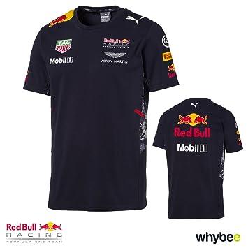 adeb80ac1b3 New! 2017 Red Bull Racing Formula One Mens Team T-Shirt Official ...