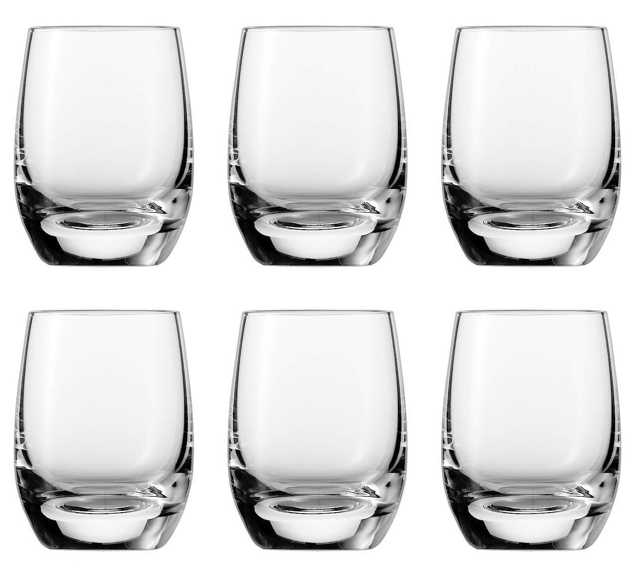 Glas Schott Zwiesel 128092 Schnapsglas transparent 6 Einheiten