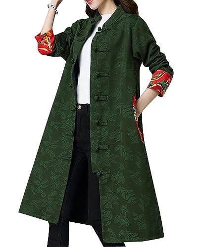 Mujer Cuello Redondo Chaqueta De Abrigo Elegante Mangas Y Costura De Bolsillo Manga Larga Capa