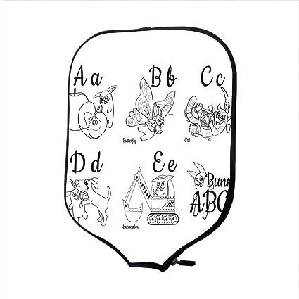 Amazon.com : Neoprene Pickleball Paddle Racket Cover Case/Colorless ...