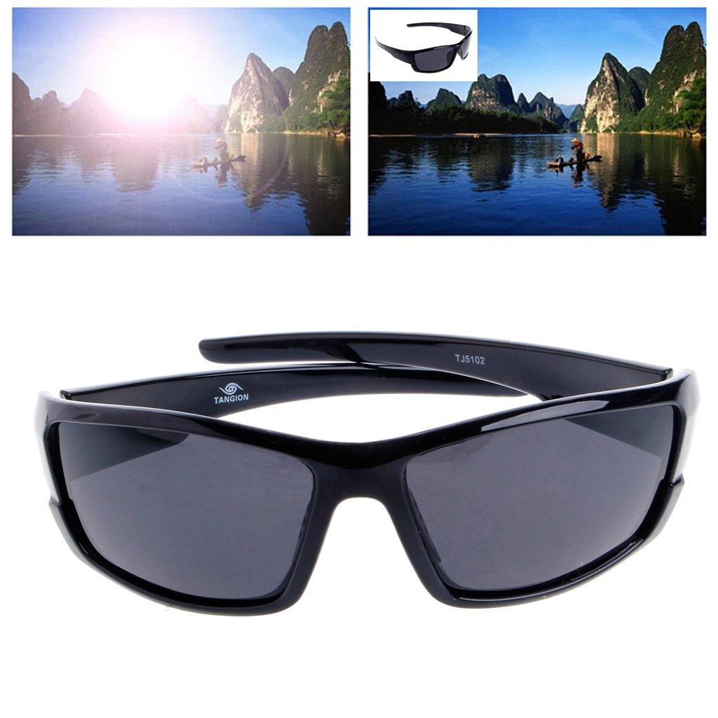 Lamdoo Mens Polarized Sunglasses Driving Cycling Goggles Sports Outdoor Fishing Eyewear