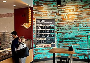 DIY Easy Peel and Stick Wood Wall Paneling Weekend Walls 20 Sq Ft, White Reclaimed Weathered Redwood