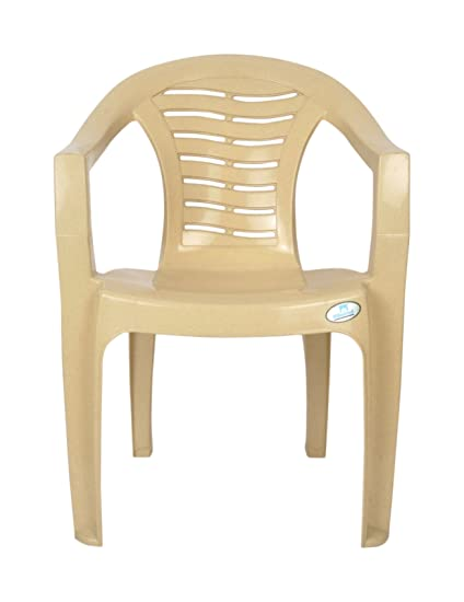 Nilkamal Plastic Armchair Brown And Beige Amazon In Home Kitchen
