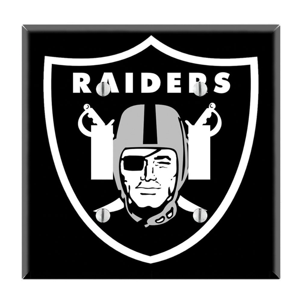 Dual Toggle Wall Switch Cover Plate Decor Wallplate - Raiders