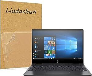 "Liudashun Screen Protector for HP Envy x360 13 ar Series 2019 [HP Envy x360 13-arXXXX(13-ar0000 to 13-ar9999) ] 13.3"" Laptop [2 PACK]"