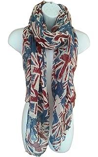 Large British Flag Scarf Sarong Patriotic English Ladies  Union Jack London