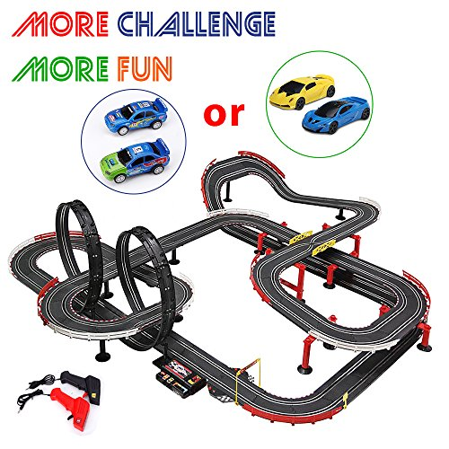 racing cars with track - 3