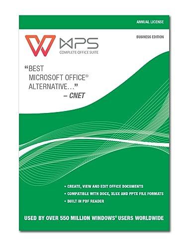 Wps Office Business Edition Jährliche Rechnung Download Amazon