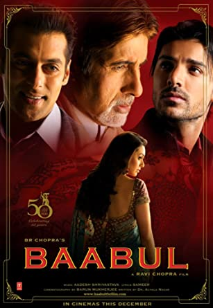 Amazon com: Baabul (2006) (Hindi Comedy Film / Bollywood Movie