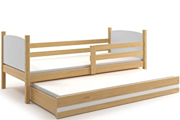 Interbeds Cama Nido Infantil Tami 190X90 - Ideal para NIÑOS O NIÑAS - con colchónes de
