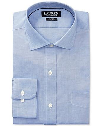 3ea3a24958b Image Unavailable. Image not available for. Color  Lauren Ralph Lauren  Men s Slim-Fit Non-Iron Pinpoint Dress Shirt
