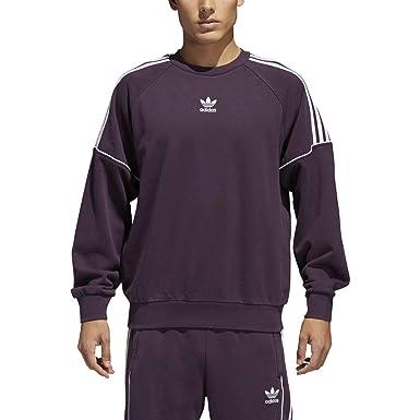 top design newest collection best quality adidas Originals Pipe Men's Crew Neck Sweatshirt Noble Red ...