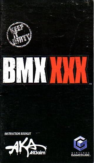 amazon com bmx xxx gamecube instruction booklet nintendo gamecube rh amazon com PlayStation Portable Nintendo DS Lite
