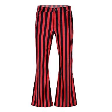 Alvivi - Pantalón de Danza para Hombre, Estilo Vintage, años ...