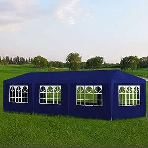 Vislone Carpa de Jardín para Camping Fiesta y Boda con 8 Paredes ...