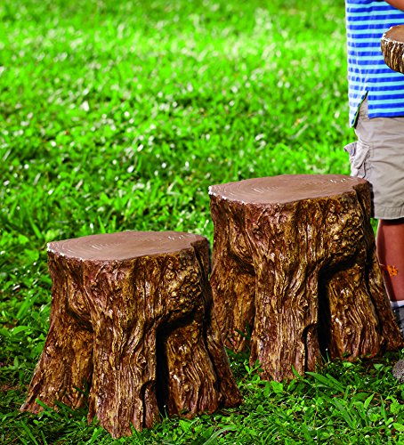 HearthSong Tree Tops Chairs, Set of Two (Out Furniture Trunks Tree Made Of)