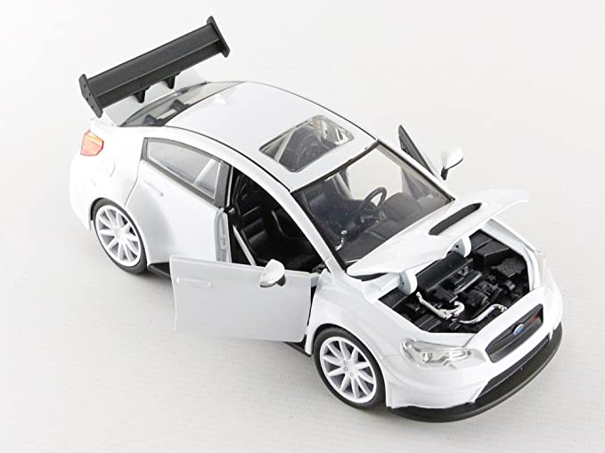 Modellauto 1:24 Fast /& Furious 8 Jada Toys Subaru WRX STi weiß