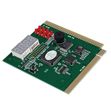 lujiaoshout 4 PCI e ISA Digit Computadora PC de la Placa ...