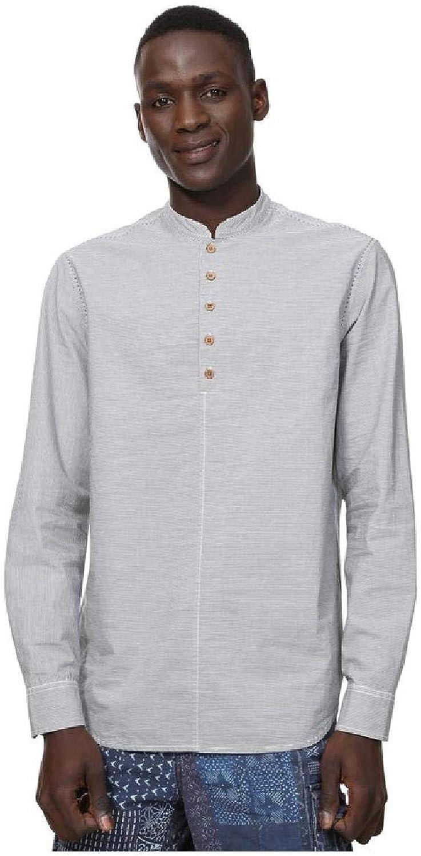 Desigual - Camisa Emory Hombre Color: 1000 Talla: Size XL: Amazon.es: Ropa y accesorios