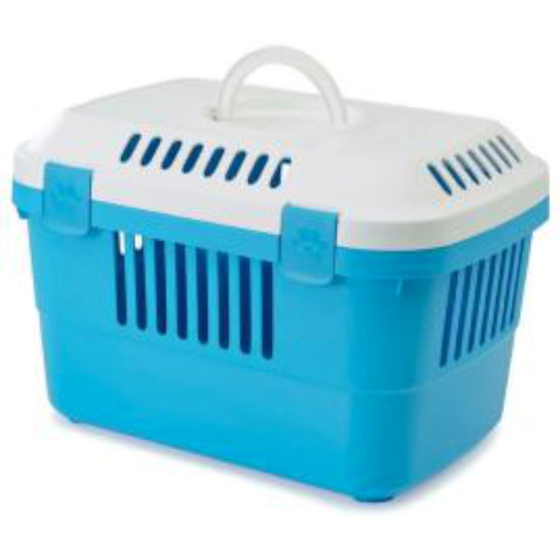 Discovery 1 Pet Carrier White/pacific Blue 48.5x33x31.5cm (Pack of 4) Savic