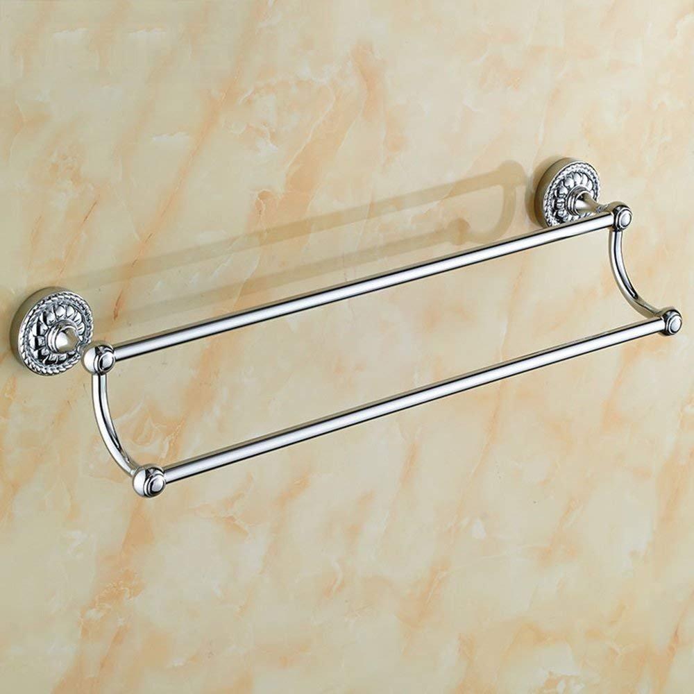 EQEQ Towel Copper/Double Towel Rail/Bath Rooms Towel Holder Wall/Bath Rooms Accessories/Accessories (Color Retro Color, Gold, Silver) (Color The Money) 80%OFF