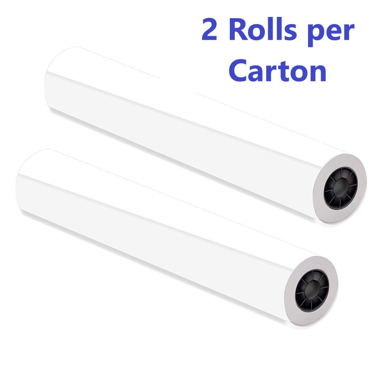 Alliance CAD Paper Rolls, 42'' x 300', 92 Bright, 24lb - 2 Rolls Per Carton - Ink Jet Bond Rolls with 2'' Core