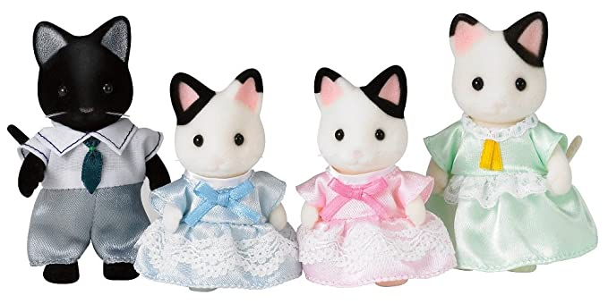 Calico Critters esmoquin gato familia: Amazon.es: Juguetes y ...