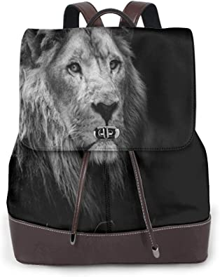 Beautiful Colorful Chinese Lion Auspicious Laptop Backpack Shoulder Back Pack Bag for Womens Mens Kids 17