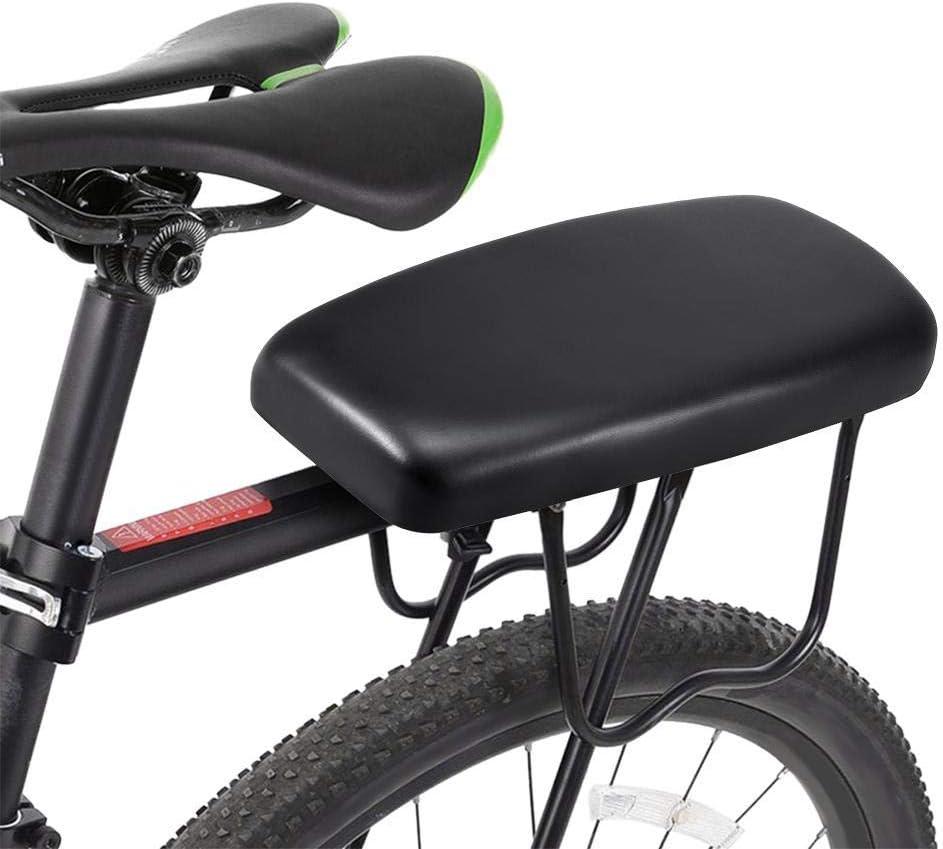 SISHUINIANHUA Asiento Trasero de la Bicicleta 1.4 Pulgadas ...