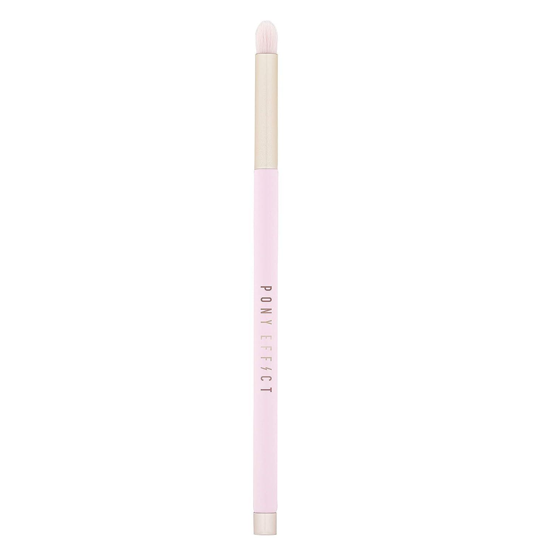 PONY EFFECT Pro Touch Brush | Eyeshadow & Liner Brush #7 | Makeup Brush for Eyeshadow and Eyeliner | K-Beauty