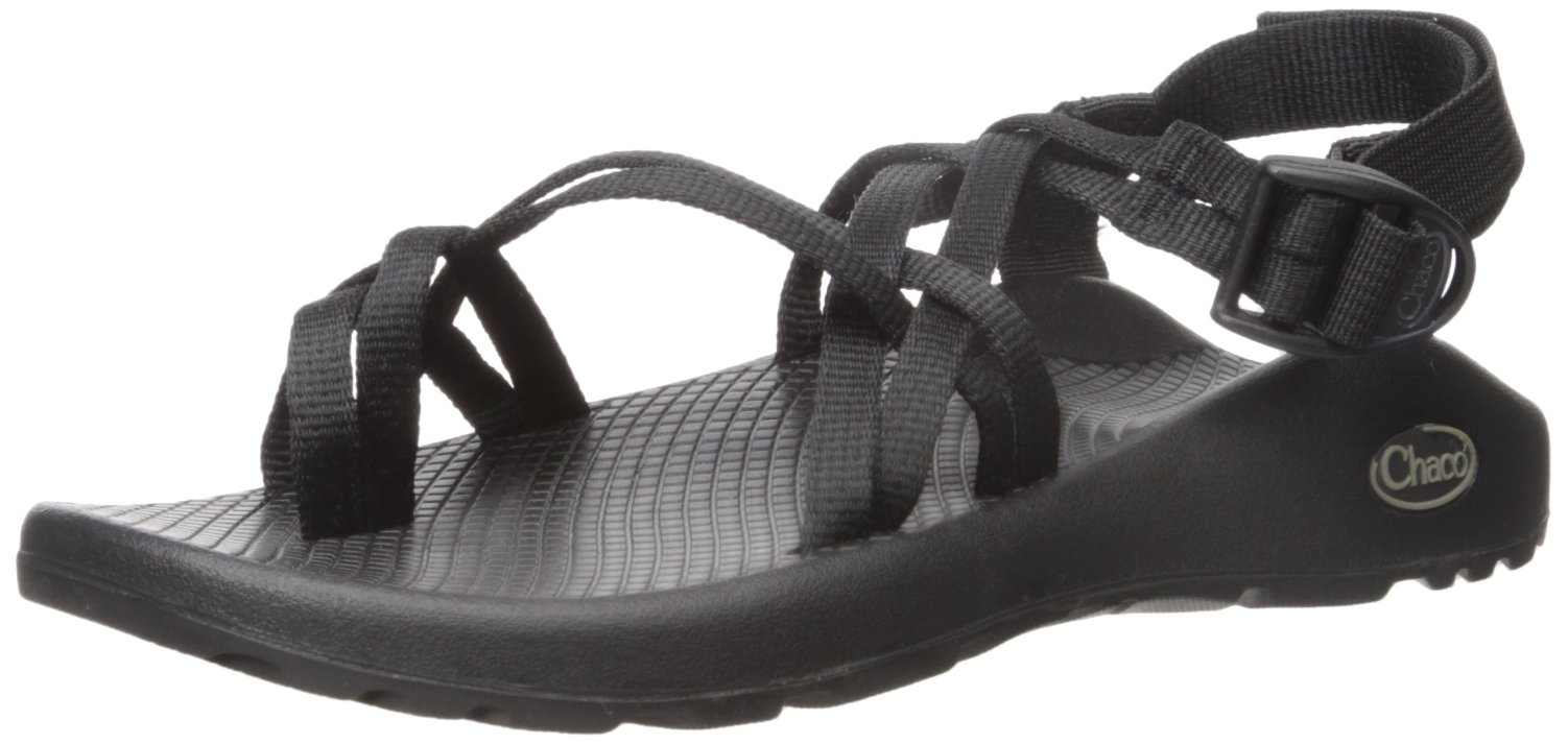 Chaco Women's ZX2 Classic Athletic Sandal,Black,8 W US