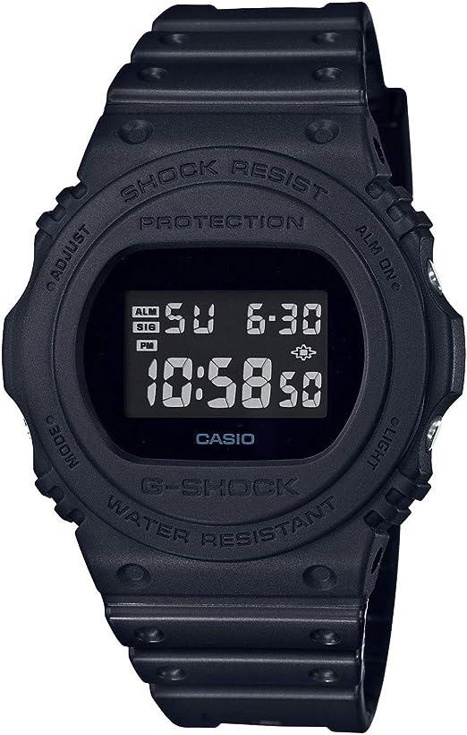 CASIO Reloj Digital para Hombre de Cuarzo con Correa en Resina DW-5750E-1BER