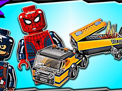 (Clip: Spider-Man Tanker Truck Takedown)