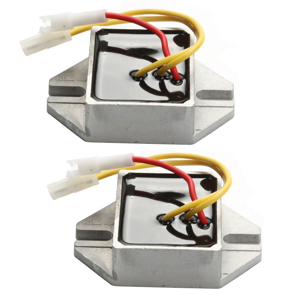 Harbot Pack Of 2 Voltage Regulator For Briggs Stratton Engine Carburetor Air Cleaner Parts Model 460707 845907 394890 797375 393374 691185 Lawn Mover Tractor Garden Outdoor