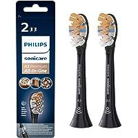 Philips Sonicare - A3 Premium All-in-One Opzetborstels - 2 stuks - Standaard formaat - Opklikbaar - BrushSync - Voor…