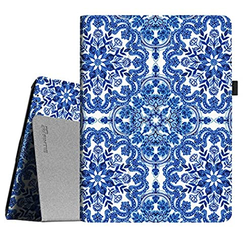 Fintie iPad 2/3/4 Case - Slim Fit Folio Case with Smart Cover Auto Sleep / Wake Feature for Apple iPad 2, iPad 3 & iPad 4th Generation with Retina Display - Cobalt (Original Ipad 4 Case)