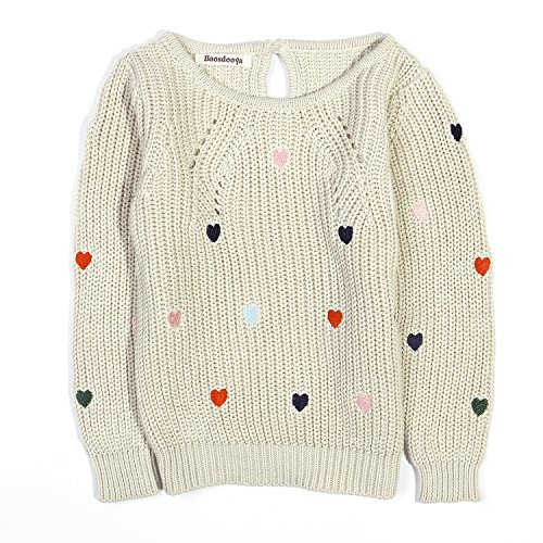 Baosdooya Pullover Sweater for Girl (Girls Sweaters Pullover)