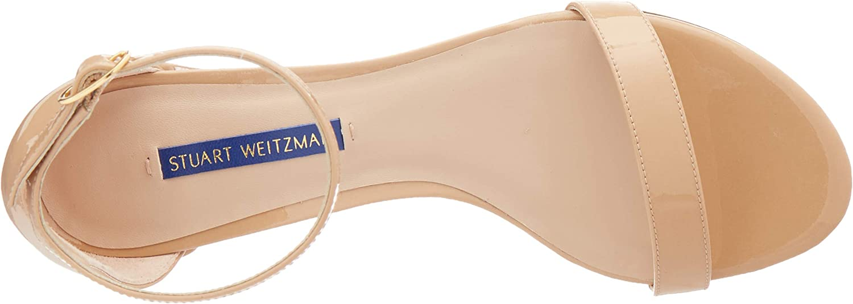 7.5 Medium US Adobe Aniline Stuart Weitzman Womens Simple Sandal