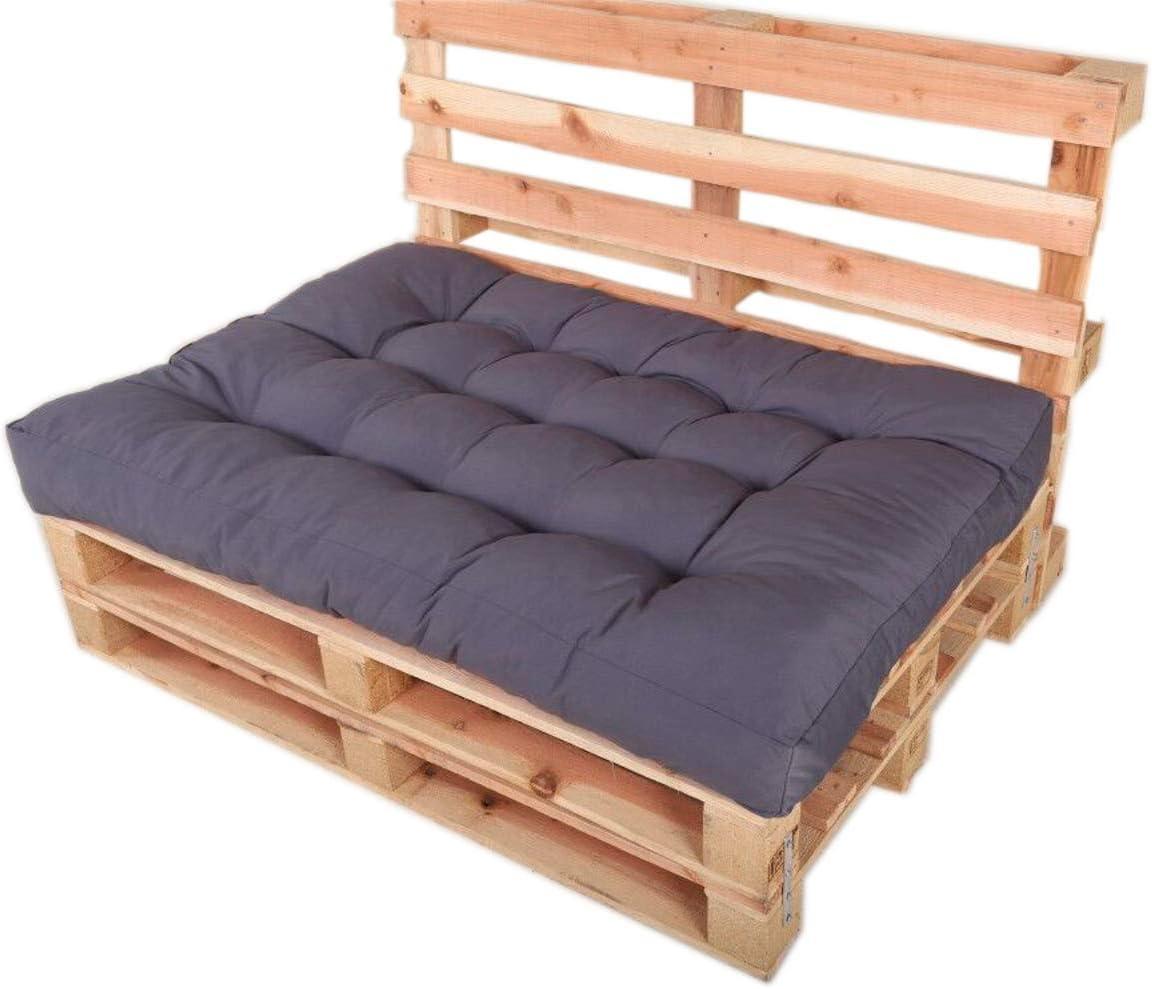 Chicreat Pallet Furniture Cushion Set 120 x 80 x 15cm