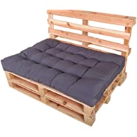 Chicreat - Juego de cojines para muebles de palés para el asiento, 120 x 80 x 15 cm