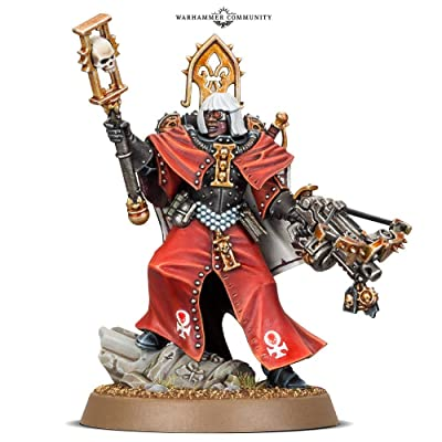 Games Workshop Warhammer 40,000: Adepta Sororitas Canoness: Toys & Games