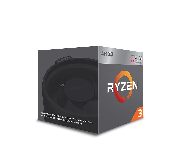 Amazon Com Amd Ryzen 3 2200g Processor With Radeon Vega 8 Graphics